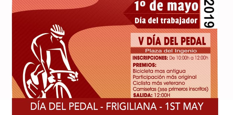 Día del Pedal – Frigiliana – 1 May