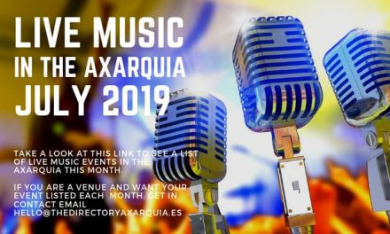 Live Music in the Axarquia – July 2019
