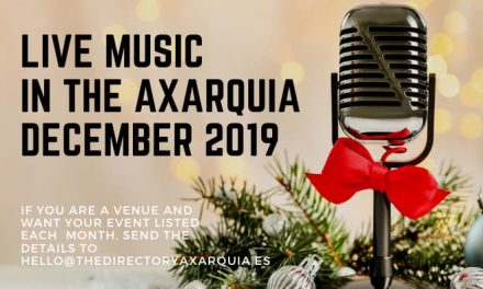 Live Music in the Axarquia – December 2019