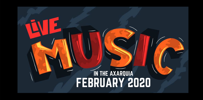 Live music in the Axarquia – February 2020