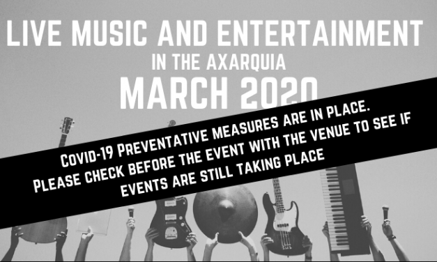 Live Music in the Axarquia – March 2020